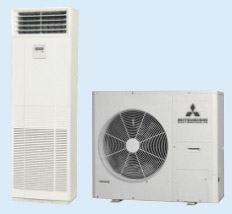 Coolwater2Aircool suppliers of Mitsubishi Heavy Ind Floor AC Units